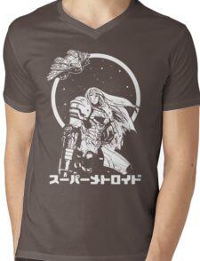 Interstellar Bounty Hunter Mens V-Neck T-Shirt