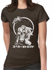 Interstellar Bounty Hunter Womens Fitted T-Shirt