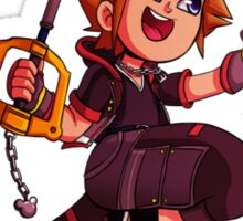 Sora Kingdom Hearts 3 Chibi Sticker