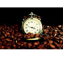 Coffee Time? ... Anytime ... Photographic Print