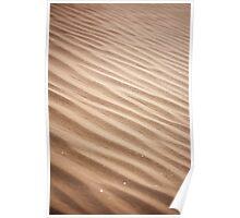 Sand Ripples Poster