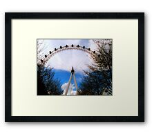 London Eye. Framed Print
