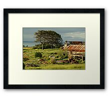 Time Capsule,Bellarine Peninsula Framed Print