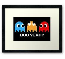 BooYeah! Framed Print