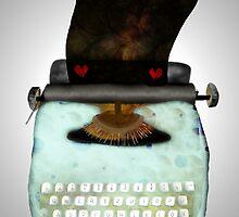 Typewriter by rupydetequila