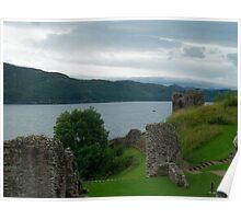 Urquhart Castle 5 Poster