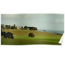 Spray Farm,Bellarine Peninsula Poster