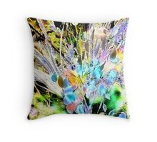 Flowers for Milady Throw Pillow