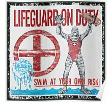 The Lifeguard Creature Is On Duty (1) Poster