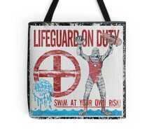 The Lifeguard Creature Is On Duty (1) Tote Bag