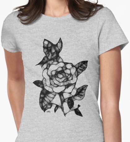 my first scribbler  Womens Fitted T-Shirt