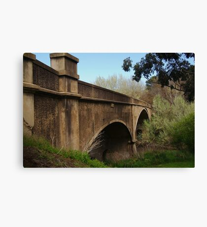 Fyansford Bridge,Geelong Canvas Print