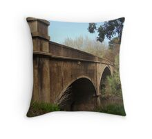 Fyansford Bridge,Geelong Throw Pillow