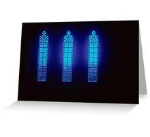 Three Windows, Iona Abbey Greeting Card