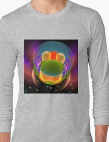 It is all magic, fractal abstract art Long Sleeve T-Shirt