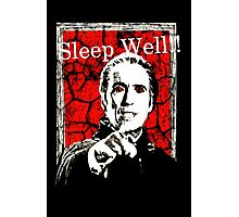 Dracula - Sleep Well!! Photographic Print