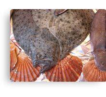 Flounder: Paris, France Canvas Print