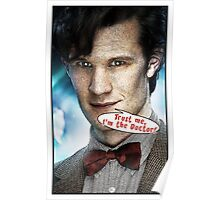 Comic Doctor Who Poster