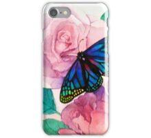 Buterfly and Roses iPhone Case/Skin