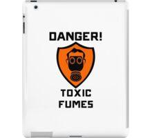 Warning - Danger Toxic Fumes iPad Case/Skin