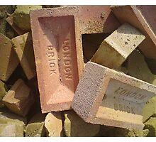 bricks & mortar Photographic Print