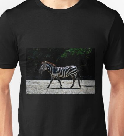 Zebra - Roger Williams Park Unisex T-Shirt