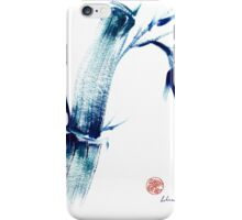 MEDITATE - Zen wash painting iPhone Case/Skin