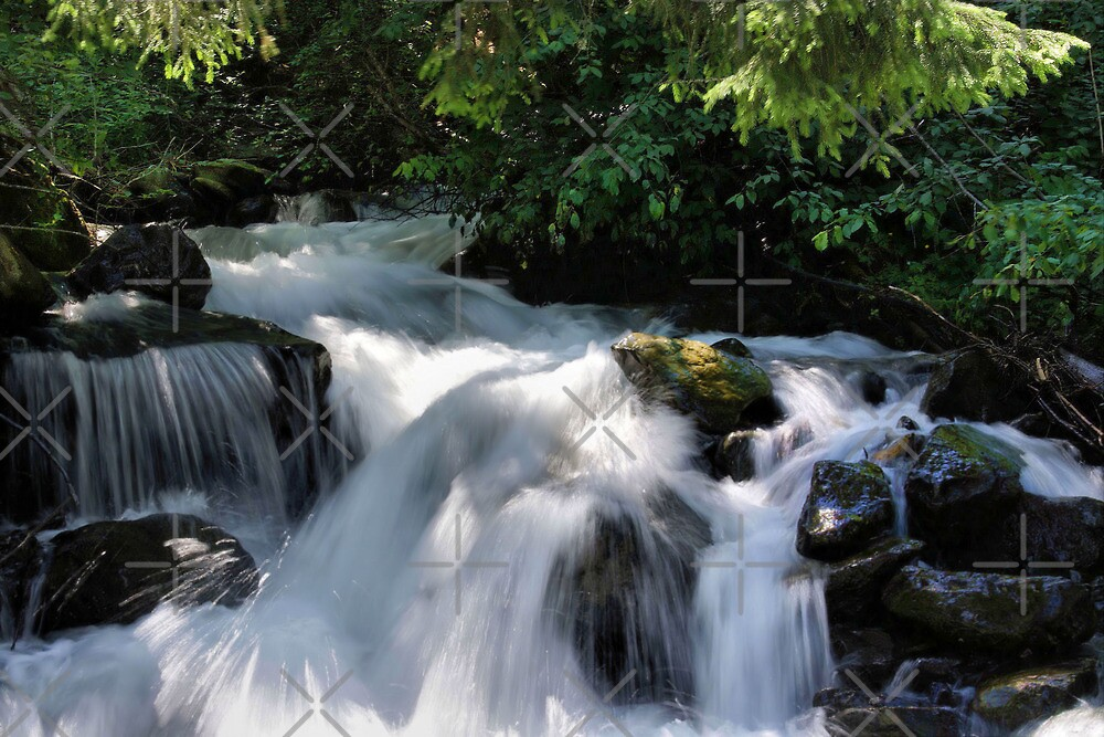 Powerful Stream by AnnieSnel