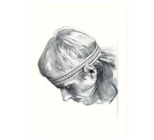 Bjorn Borg Art Print