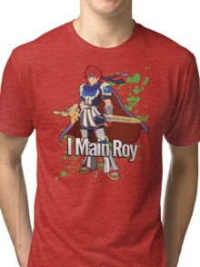 I Main Roy - Super Smash Bros. Tri-blend T-Shirt