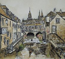 Bayeux (in coffee) by Dianne  Ilka