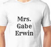 Mrs. Gabe Erwin Unisex T-Shirt