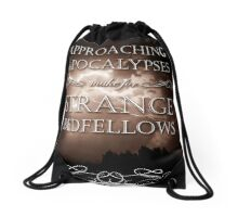 Approaching Apocalypses Drawstring Bag