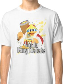 I Main King Dedede - Super Smash Bros. Classic T-Shirt