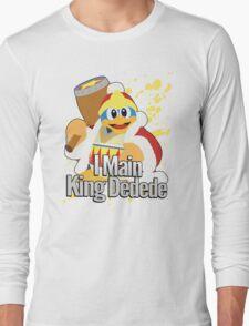 I Main King Dedede - Super Smash Bros. Long Sleeve T-Shirt