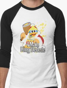 I Main King Dedede - Super Smash Bros. Men's Baseball ¾ T-Shirt