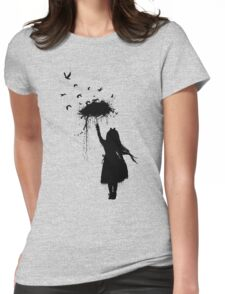 Umbrella II Womens Fitted T-Shirt