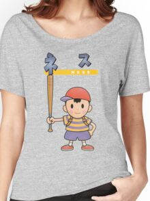 Super Smash Bros 64 Japan Ness Women's Relaxed Fit T-Shirt