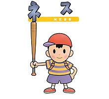 Super Smash Bros 64 Japan Ness Photographic Print