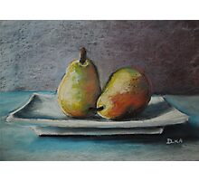 A Pair of Pears Photographic Print