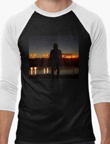 Here I Stand Men's Baseball ¾ T-Shirt