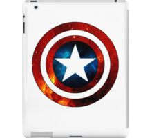 Captain America Shield Galaxy iPad Case/Skin