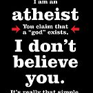 Simply Atheist by tastypaper