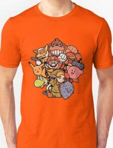 Super Smash Bros 64 Japan Characters T-Shirt