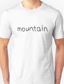 MOUNTAIN SHIRT: ORE MONOGATARI T-Shirt