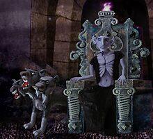 Hades, God of the Underworld by Stijn Van Elst
