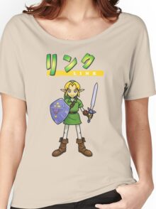 Super Smash Bros 64 Japan Link Women's Relaxed Fit T-Shirt