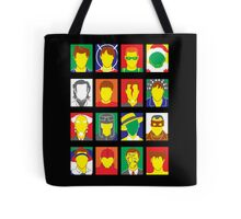 Faces of Carrey Tote Bag