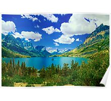 Lake Saint Mary,  Glacier National Park, Montana Poster