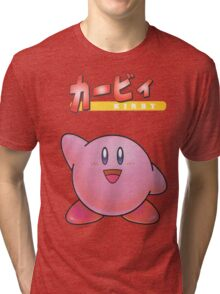 Super Smash Bros 64 Japan Kirby Tri-blend T-Shirt